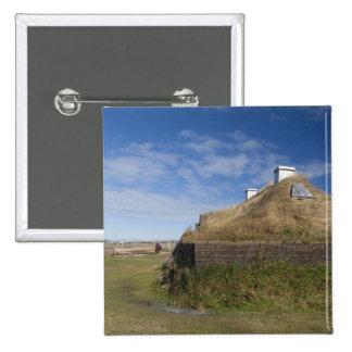 Le Canada, la Terre-Neuve et le Labrador, L'Anse 4 Badge Carré 5 Cm