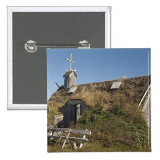 Le Canada, la Terre-Neuve et le Labrador, L'Anse a Badge Carré 5 Cm