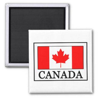 Le Canada Magnet Carré