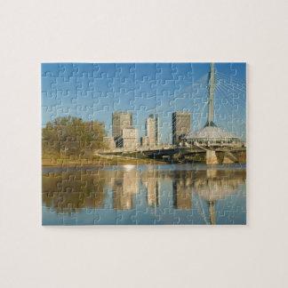Le CANADA, Manitoba, Winnipeg : Esplanade Riel 2 Puzzle
