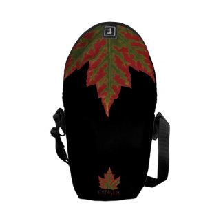 Le Canada met en sac le sac messenger à feuille Besace