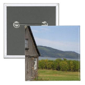 Le Canada, Québec, L'isle-aux.-Coudres, Badge Carré 5 Cm