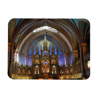Le Canada, Québec, Montréal. Intérieur de Notre 2 Magnet Rectangulaire Avec Photo