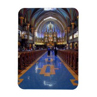 Le Canada, Québec, Montréal. Intérieur de Notre 3 Magnets En Vinyle