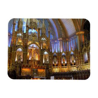 Le Canada, Québec, Montréal. Intérieur de Notre Magnets En Rectangle
