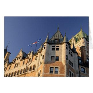 Le Canada, Québec, Québec. Château de Fairmont Carte De Vœux