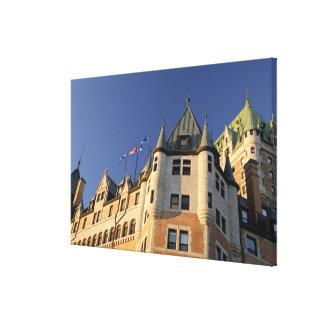 Le Canada, Québec, Québec. Château de Fairmont Impressions Sur Toile