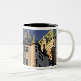 Le Canada, Québec, Québec. Château de Fairmont Mug Bicolore