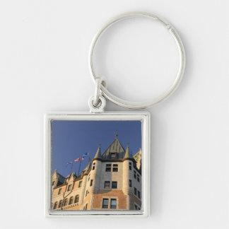 Le Canada, Québec, Québec. Château de Fairmont Porte-clé Carré Argenté
