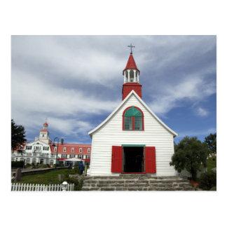Le Canada, Québec, Tadoussac. Petit Chapelle, Carte Postale