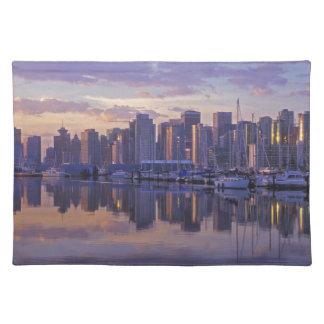 Le Canada, Vancouver, Colombie-Britannique. Sets De Table