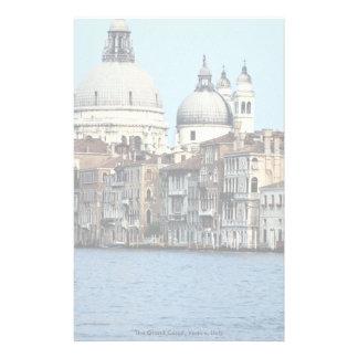 Le canal grand, Venise, Italie Motifs Pour Papier À Lettre