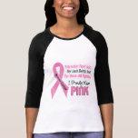 Le cancer du sein I portent fièrement le rose 1 T-shirts