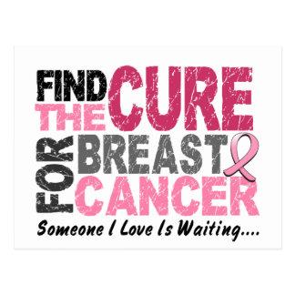 Le CANCER DU SEIN trouvent le traitement 1 Carte Postale
