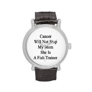 Le Cancer n'arrêtera pas ma maman qu'elle est un Montres Bracelet