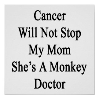 Le Cancer n'arrêtera pas ma maman qu'elle est un