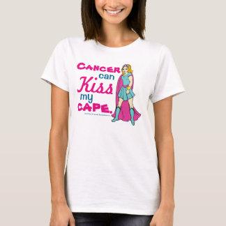 Le Cancer peut embrasser ma pièce en t de bande T-shirt