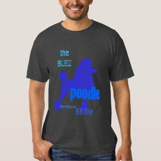 le caniche de BLEU - la meilleure barre de piqué T-shirt