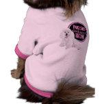 Le caniche de maternité endigue la pièce en t de c vêtements pour chien