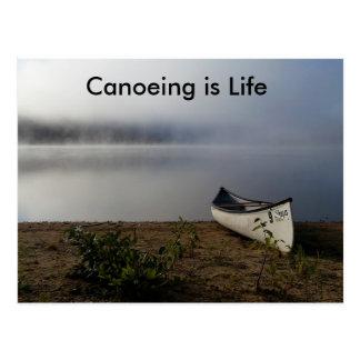 Le canoë-kayak est carte postale de la vie