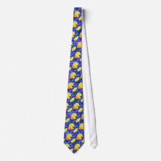 Le caoutchouc bleu de Camo mignon Cravates