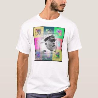 Le capitaine Smith d'art de bruit de Titanic T-shirt