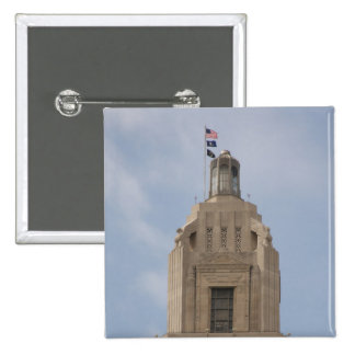 Le capitol d'état de la Louisiane Badges
