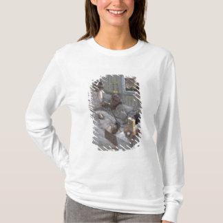 Le cardiologue Henri Vaquez et sien T-shirt