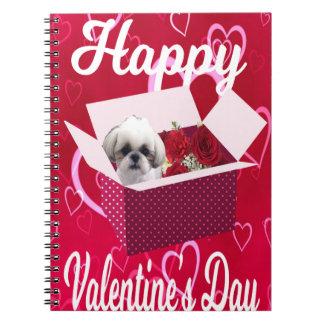Le carnet de Valentine de tzu de Shih, chien