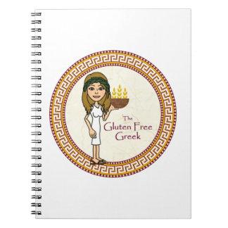 Le carnet grec libre de gluten