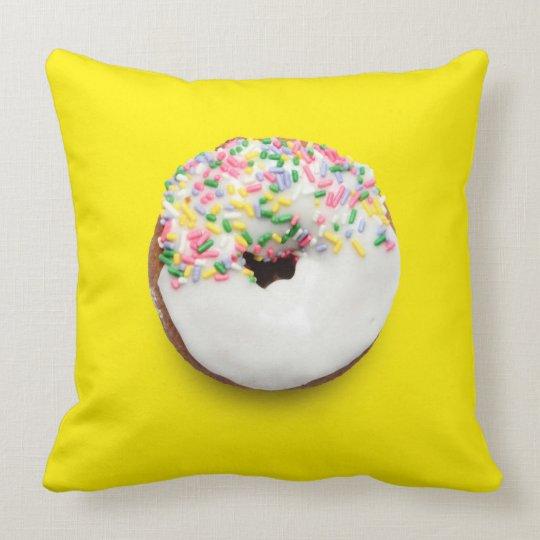 le carr de bleu et de jaune arrosent le coussin. Black Bedroom Furniture Sets. Home Design Ideas