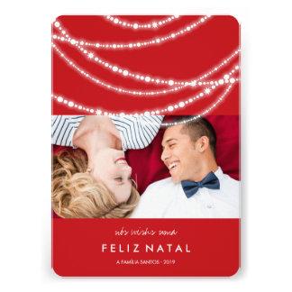 Le cartão de foto du DA de moda d à d étincelles Carton D'invitation