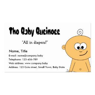 Le carte de visite d'affaires de bébé