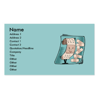 Le carte de visite de l infirmière