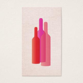 Le carte de visite de l'amateur de vin