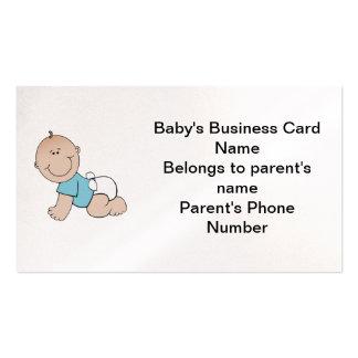 Le carte de visite du bébé