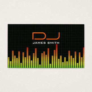 Le carte de visite du DJ