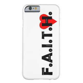 Le cas de protection de F.A.I.T.H. IPhone Coque iPhone 6 Barely There