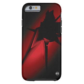 Le cas de téléphone de descente coque tough iPhone 6