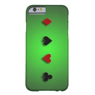 le casino d'arrière - plan de tisonnier carde des coque iPhone 6 barely there