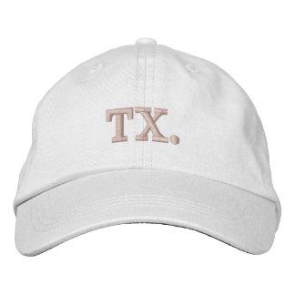 Le casquette de baseball de TX le Texas rougissent