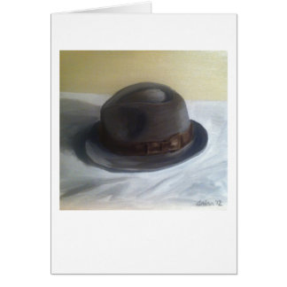 """Le """"casquette de Dick"""" par la bouffe de Trina Carte De Vœux"""