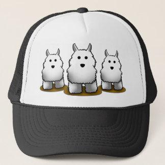 Le casquette de l'alpha camionneur de chien de