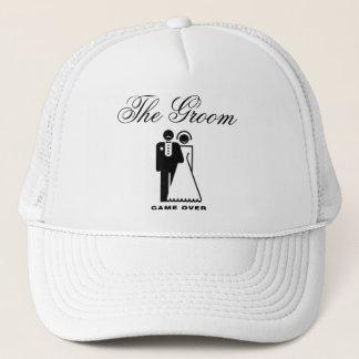 Le casquette de mariage de marié