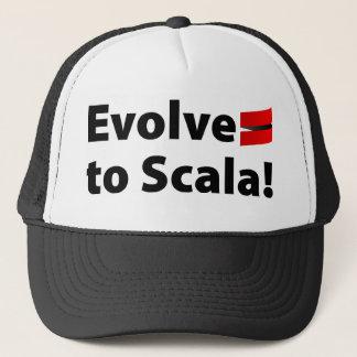 Le casquette de Scala, évoluent le logo