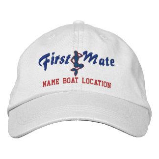 Le casquette de sirène du premier compagnon le casquette de baseball