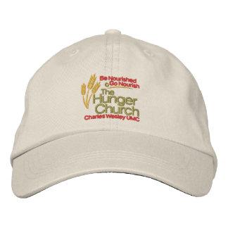 Le casquette d'église de faim casquette brodée