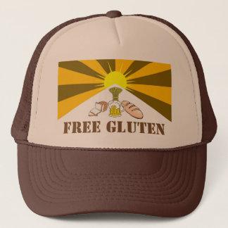 Le casquette du camionneur libre de gluten
