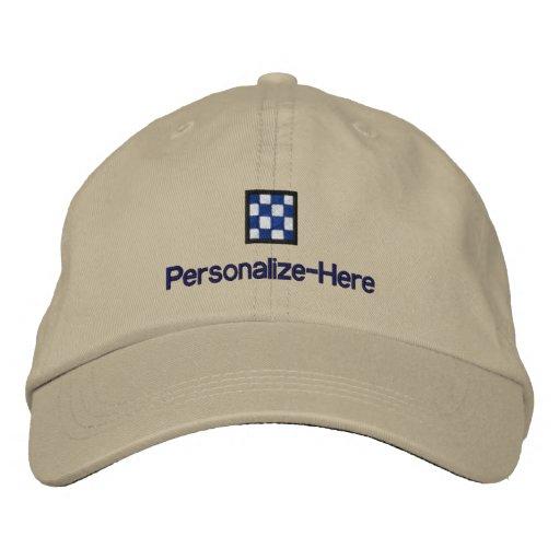 Le casquette du chapeau en paille personnalisé