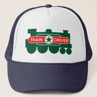 Le casquette du conducteur de train